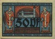 50 Pfennig (Monastery Series - Issue 3) – obverse