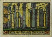 50 Pfennig (Monastery Series - Issue 3) – reverse