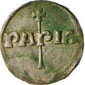 1 Denaro - Enrico I – reverse