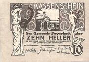 10 Heller (Payerbach) – obverse