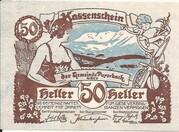 50 Heller (Payerbach) -  obverse