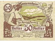 50 Heller (Payerbach) – obverse