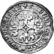 "1 Groot ""à l'M"" - Philip I of Castile – reverse"