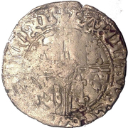 1 Groot - Charles the Bold – obverse