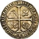 "2 Penning ""Jans"" - John IV – reverse"
