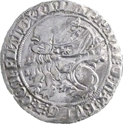 "2 Groot ""à la mante"" - Philip the Bold – obverse"