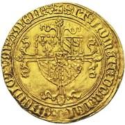 1 Gouden Rijder - Philip the Good – reverse