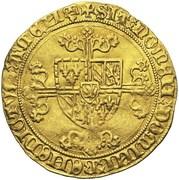 1 Cavalier d'Or - Philip the Good – reverse
