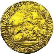Lion d'Or - Philippe le Bon – obverse