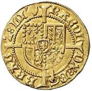 1 Bourgondische Gulden - Charles the Bold – reverse