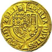 1 Bourgondische Gulden - Mary of Burgundy – reverse