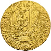 1 Bourgondische Nobel - Philip the Fair – obverse