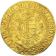 1 Bourgondische Nobel - Philip the Fair – reverse