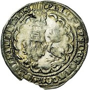 """2 Groot """"botdraeger"""" - Philip the Bold -  obverse"""