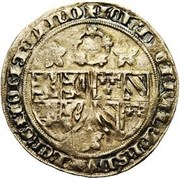 "1 Groot ""Roosebeker"" - Philip the Bold – obverse"