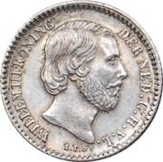 10 Cents - Willem III -  obverse