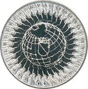 5 Euro - Beatrix (300 Years Peace of Utrecht) -  reverse