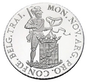 1 Ducat - Beatrix (Utrecht; Silver Bullion Coinage) – reverse