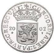 1 Ducat - Beatrix (Gelderland; Silver Bullion Coinage) – obverse