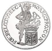 1 Ducat - Beatrix (Gelderland; Silver Bullion Coinage) – reverse