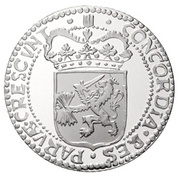 1 Ducat - Beatrix (Holland; Silver Bullion Coinage) – obverse