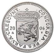 1 Ducat - Beatrix (Groningen; Silver Bullion Coinage) – obverse