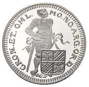 1 Ducat - Beatrix (Groningen; Silver Bullion Coinage) – reverse