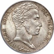 3 Gulden - Willem I – obverse
