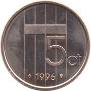 5 Cents - Beatrix – reverse