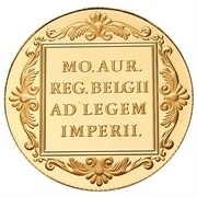 1 Ducat - Beatrix (Trade Coinage) – reverse