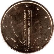 50 Euro Cent - Willem-Alexander (2nd map) – obverse