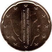 20 Euro Cent - Willem-Alexander (2nd map) – obverse