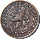 "1 Cent - Wilhelmina (""KONINKRIJK"") – obverse"