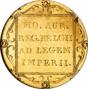 1 Ducat - Willem II (Trade Coinage) – reverse