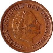 1 Cent - Juliana – obverse