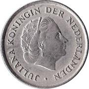10 Cents - Juliana -  obverse