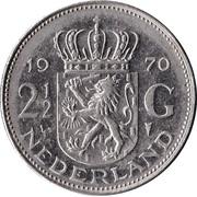 2½ Gulden - Juliana -  reverse