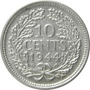 10 Cents - Wilhelmina – reverse