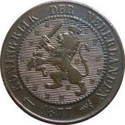 2½ Cents - Willem III / Wilhelmina – obverse