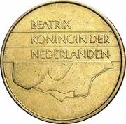 5 Gulden - Beatrix -  obverse