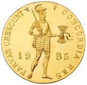 1  Ducat - Juliana (Trade Coinage) – obverse