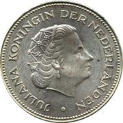 10 Gulden - Juliana (Liberation) – obverse