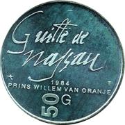 50 Gulden - Beatrix (William of Orange) – reverse