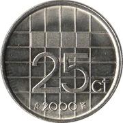 25 Cents - Beatrix -  reverse