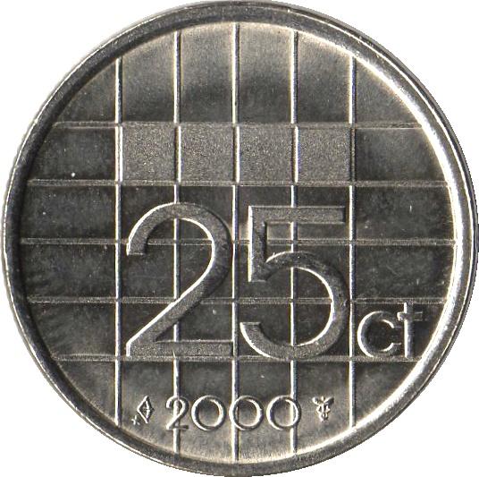 25 Cents Beatrix Netherlands Numista