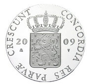 1 Ducat - Beatrix (Limburg; Silver Bullion Coinage) – obverse