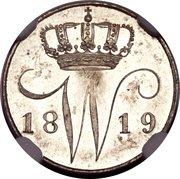 5 Cents - Willem I – obverse
