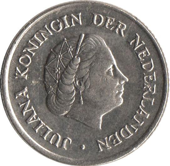 25 Cents Juliana Netherlands Numista