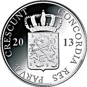 1 Ducat - Beatrix (Overijssel; Silver Bullion Coinage) – obverse
