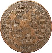 "1 Cent - Wilhelmina (""KONINGRIJK"") – obverse"